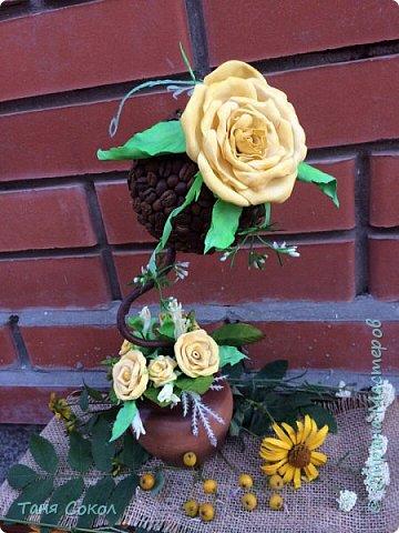 Всем здравствуйте! Что-то меня зацепила кофейная тема..идея избитая, но..что бы уж не быть просто повторюшкой, решила я начать делать цветы сама, а не ждать месяцами посылку с али- экспресса.... К тому же самой можно сделать именно то, что тебе нужно к определенной работе.. фото 1
