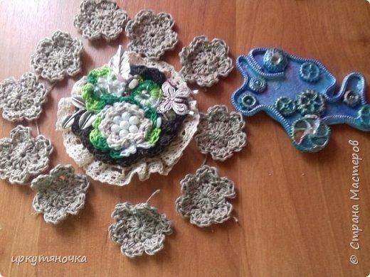 Привезла свекровь две посылочки. Первой открыла от Ларисы http://stranamasterov.ru/user/15420 фото 2