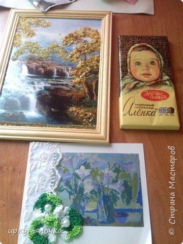 Привезла свекровь две посылочки. Первой открыла от Ларисы http://stranamasterov.ru/user/15420 фото 3