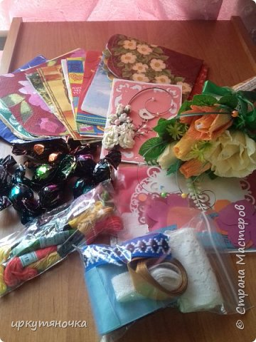 Привезла свекровь две посылочки. Первой открыла от Ларисы http://stranamasterov.ru/user/15420 фото 7