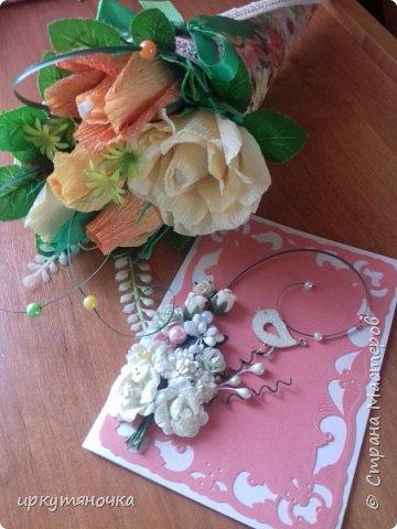 Привезла свекровь две посылочки. Первой открыла от Ларисы http://stranamasterov.ru/user/15420 фото 9