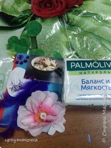 Вот столько подарочков отправила мне Региночка http://stranamasterov.ru/user/275361. Столько нужного и полезного спасибо, тебе моя хорошая.  Все очень-очень понравилось, было упаковано в отдельный красивый пакетик. фото 3