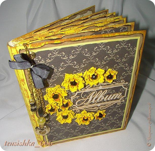 Альбомчик в желто-черных тонах, под настроение! фото 3