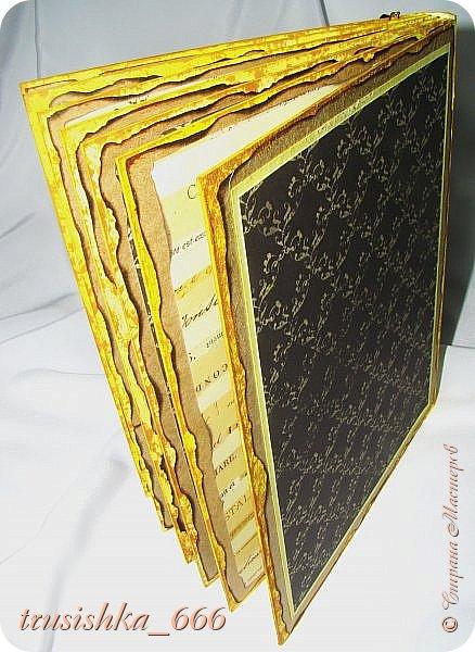 Альбомчик в желто-черных тонах, под настроение! фото 4