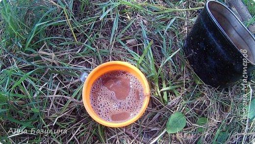 Горячий шоколад на костре. фото 1
