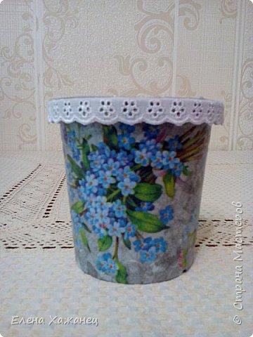 Цветочные горшочки фото 4