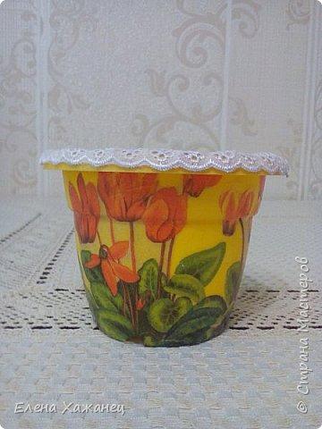 Цветочные горшочки фото 5
