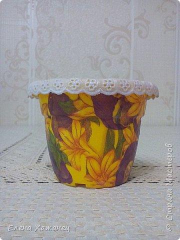 Цветочные горшочки фото 7