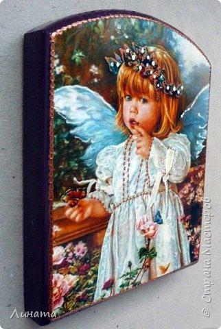 Панно с ангелом  фото 2