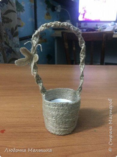Пасхальная корзинка в стиле минимализм фото 1
