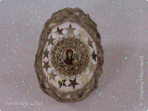 Коллекционное декоративное Пасхальное яйцо в стиле Фаберже