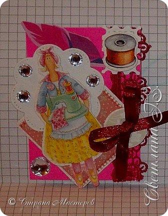 """Смотрела ,смотрела какие красивые куклы шьют  девочки  и решила """"сшить"""" свои куклы!!!Каждая моя Тильда занята своим делом.Одна из них останется дома! фото 4"""
