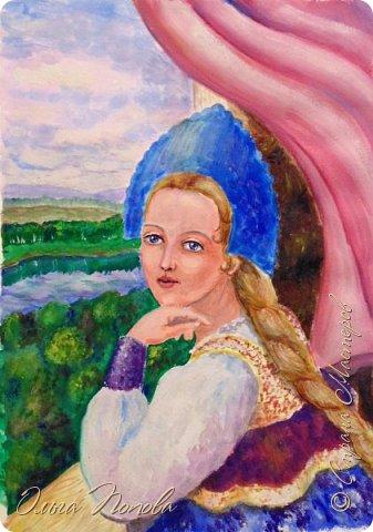 Познакомьтесь - это Василиса. Она немного подумает, и начнёт рассказывать сказку. фото 3