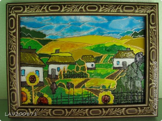 Всем привет. выкладываю свои новые работы.... картины на стекле витражными красками Декола. фото 3