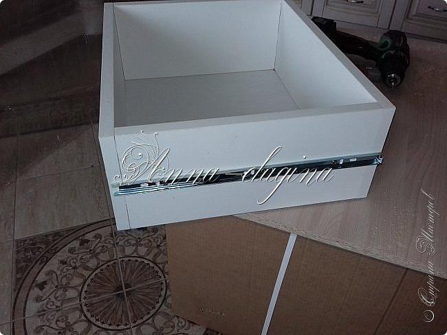 Всем привет! Заходите в гости! У нас сегодня туалетный столик. Для работы заказала распил ЛДСП 16 мм по своим размерам и столешницу. фото 5