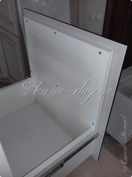 Всем привет! Заходите в гости! У нас сегодня туалетный столик. Для работы заказала распил ЛДСП 16 мм по своим размерам и столешницу. фото 13