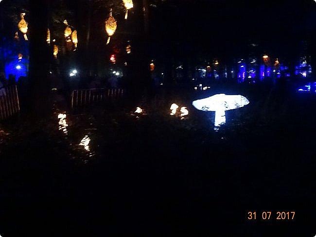 III Международный фестиваль искусств «Вдохновение» В парке «Останкино» проходил ежегодный световой мультимедийный фестиваль. После захода солнца зрители смогут прогуляться по волшебному лесу и встретить диковинных персонажей: летающих рыб, светящихся лошадей и небесных люмильеров. ВХОД СВОБОДНЫЙ  Источник: https://kudago.com/msk/event/vyistavka-vdohnovenie/ фото 10