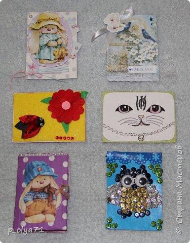 Здравствуйте,мои дорогие!!!! В пятницу я получила карточки от Иры, Светика и Ани,а сегодня забрала с почты ещё и карточку Полины и Ани)) !!!! ОЧЕНЬ рада!!! Девочки,ВСЕ карточки ЧУДЕСНЫЕ и ЗАМЕЧАТЕЛЬНЫЕ!!!! фото 17