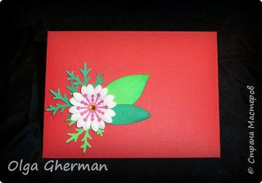 Создала новую серию резных открыток... К каждой открытке прилагается конверт в комплекте... Вот , что у меня получилось : фото 6