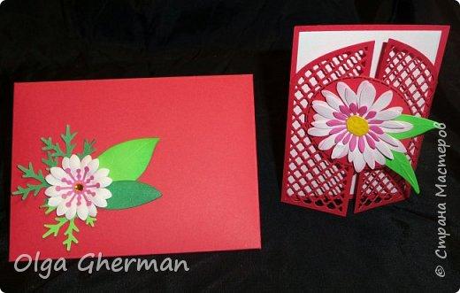 Создала новую серию резных открыток... К каждой открытке прилагается конверт в комплекте... Вот , что у меня получилось : фото 5