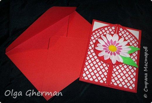 Создала новую серию резных открыток... К каждой открытке прилагается конверт в комплекте... Вот , что у меня получилось : фото 7