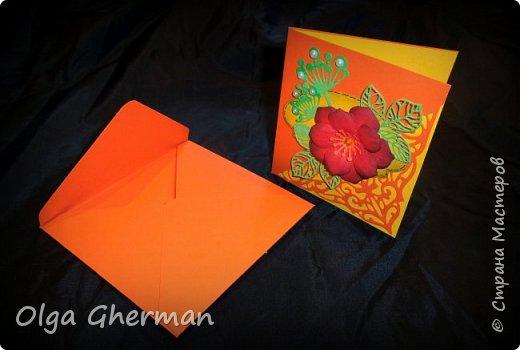 Создала новую серию резных открыток... К каждой открытке прилагается конверт в комплекте... Вот , что у меня получилось : фото 16