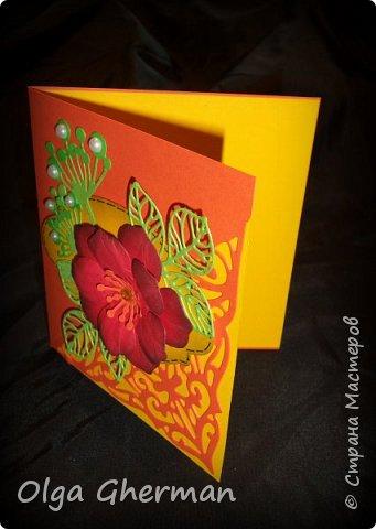 Создала новую серию резных открыток... К каждой открытке прилагается конверт в комплекте... Вот , что у меня получилось : фото 17