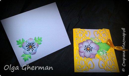 Создала новую серию резных открыток... К каждой открытке прилагается конверт в комплекте... Вот , что у меня получилось : фото 23