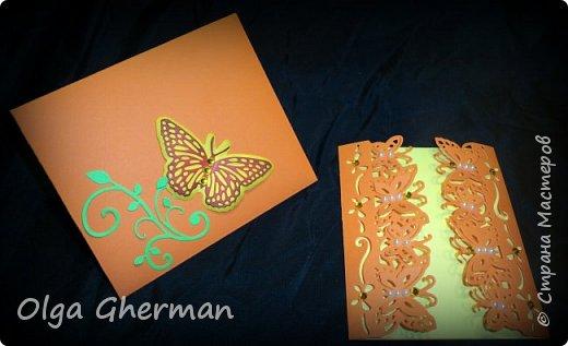 Создала новую серию резных открыток... К каждой открытке прилагается конверт в комплекте... Вот , что у меня получилось : фото 33