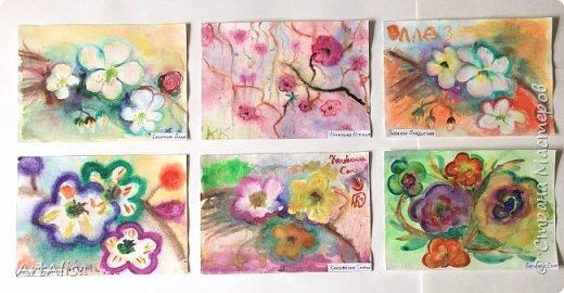 Весенние птицы и цветы! фото 1