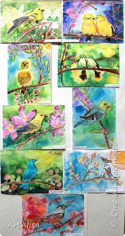 Весенние птицы и цветы! фото 2