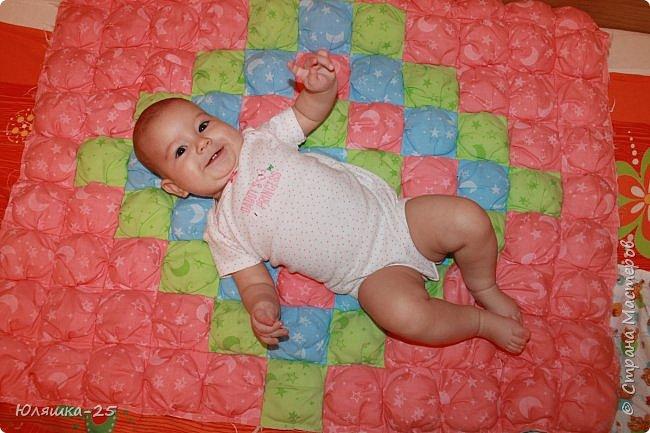 Вот наконец то я завершила свой масштабный проект. огромное вафельное одеяло, и по другому, одеяло бон-бон. фото 5