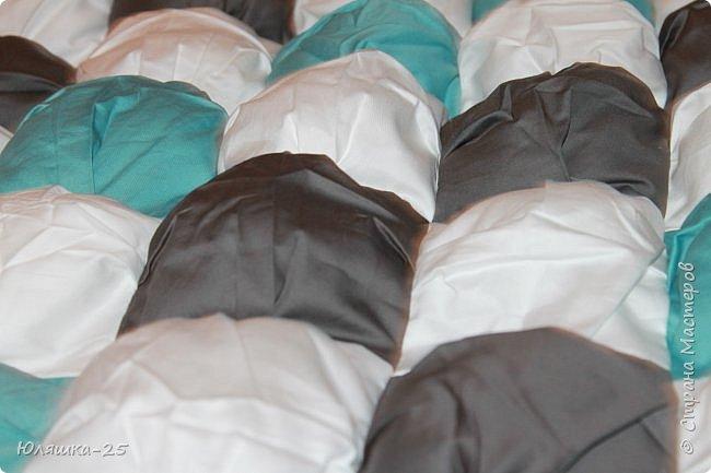 Вот наконец то я завершила свой масштабный проект. огромное вафельное одеяло, и по другому, одеяло бон-бон. фото 4