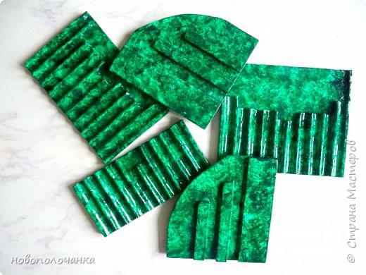 Вот и готов мой подарок племяннику,  любителю зелёного цвета. Как и из чего я её  делала,   делюсь с вами. фото 41