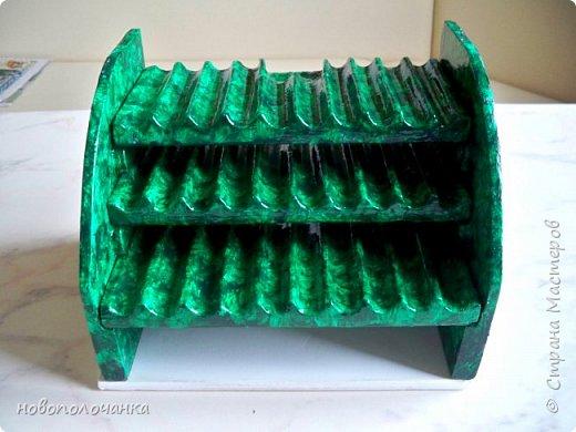 Вот и готов мой подарок племяннику,  любителю зелёного цвета. Как и из чего я её  делала,   делюсь с вами. фото 42
