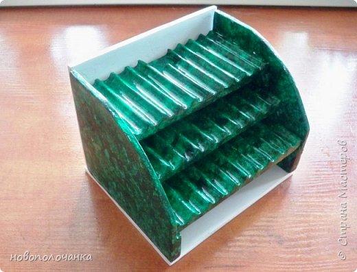 Вот и готов мой подарок племяннику,  любителю зелёного цвета. Как и из чего я её  делала,   делюсь с вами. фото 43