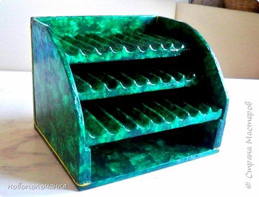 Вот и готов мой подарок племяннику,  любителю зелёного цвета. Как и из чего я её  делала,   делюсь с вами. фото 46