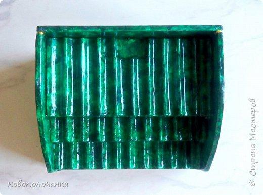 Вот и готов мой подарок племяннику,  любителю зелёного цвета. Как и из чего я её  делала,   делюсь с вами. фото 45