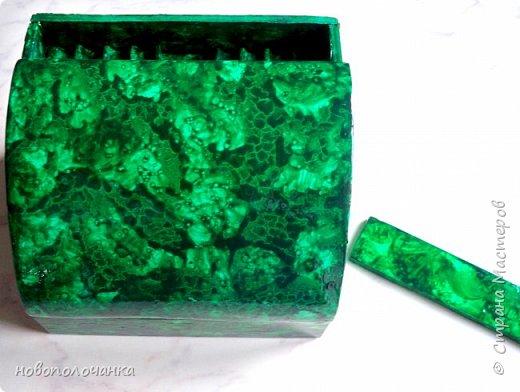 Вот и готов мой подарок племяннику,  любителю зелёного цвета. Как и из чего я её  делала,   делюсь с вами. фото 54