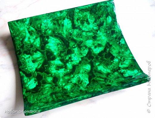 Вот и готов мой подарок племяннику,  любителю зелёного цвета. Как и из чего я её  делала,   делюсь с вами. фото 52