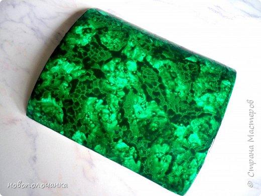 Вот и готов мой подарок племяннику,  любителю зелёного цвета. Как и из чего я её  делала,   делюсь с вами. фото 50