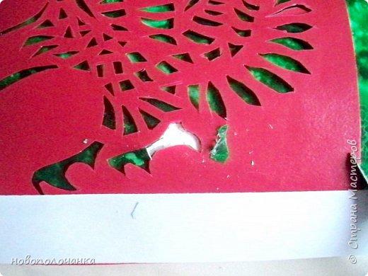 Вот и готов мой подарок племяннику,  любителю зелёного цвета. Как и из чего я её  делала,   делюсь с вами. фото 65