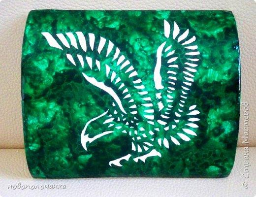Вот и готов мой подарок племяннику,  любителю зелёного цвета. Как и из чего я её  делала,   делюсь с вами. фото 70