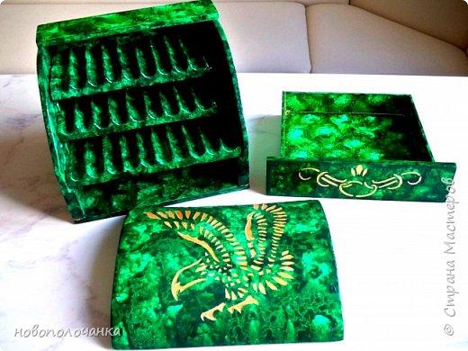 Вот и готов мой подарок племяннику,  любителю зелёного цвета. Как и из чего я её  делала,   делюсь с вами. фото 71