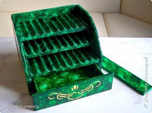 Вот и готов мой подарок племяннику,  любителю зелёного цвета. Как и из чего я её  делала,   делюсь с вами. фото 74