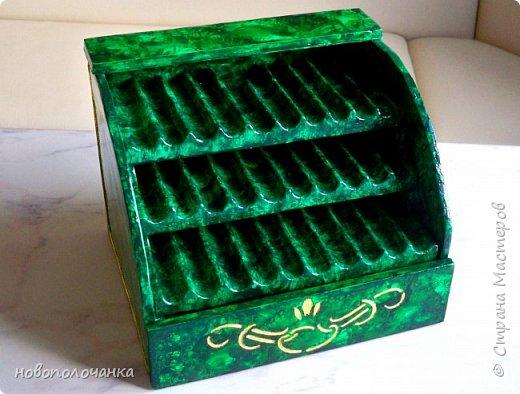 Вот и готов мой подарок племяннику,  любителю зелёного цвета. Как и из чего я её  делала,   делюсь с вами. фото 72