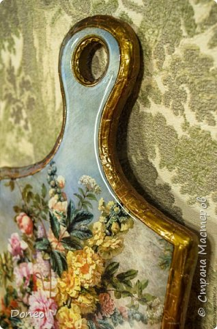 Декоративная дощечка «Цветочный натюрморт»  фото 4