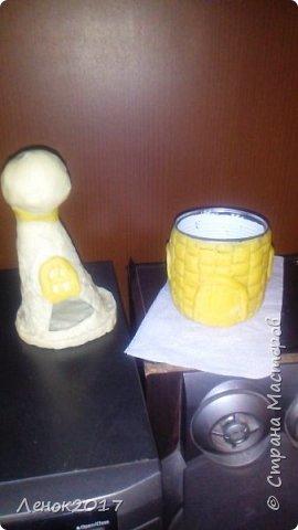 Жестяная банка из под кукурузы и соленое тесто фото 2