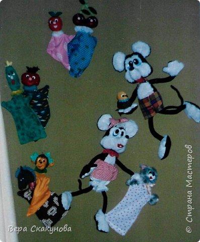 Все представленные изделия, в основном, авторские разработки. Кукольные и театральные игрушки фото 3