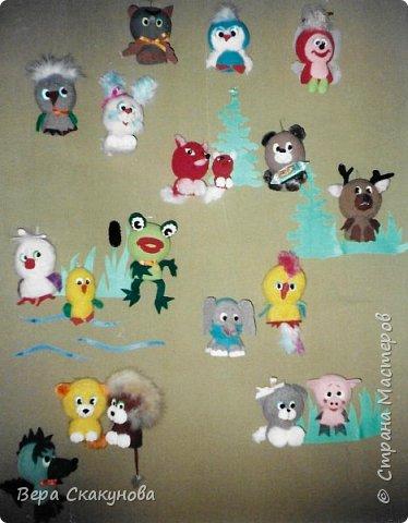 Все представленные изделия, в основном, авторские разработки. Кукольные и театральные игрушки фото 12
